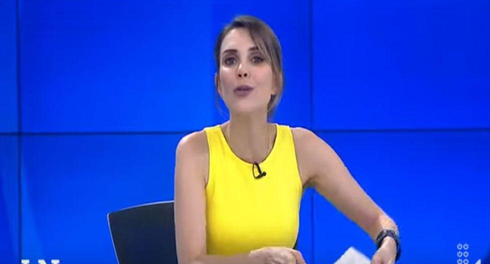 "Juliana Oxenford sobre Tamar Arimborgo: ""Me niego a tener una parlamentaria que hable tanta burrada"". (Capturas: Latina)"