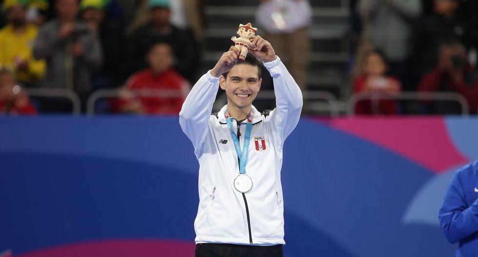Hugo del Castillo: Medalla de plata en Taekwondo Poomsae. (Foto: Jesus Saucedo / GEC)