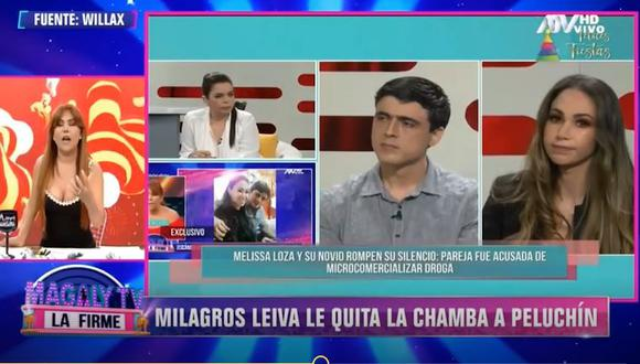 Magaly Medina tilda de vieja chismosa a Milagros Leiva por entrevistar a Melissa Loza