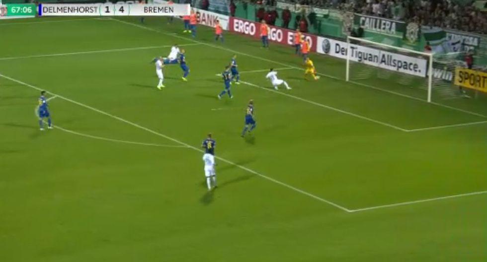 Golazos y Doblete de Claudio Pizarro en triunfo de Werder Bremen por la Copa de Alemania