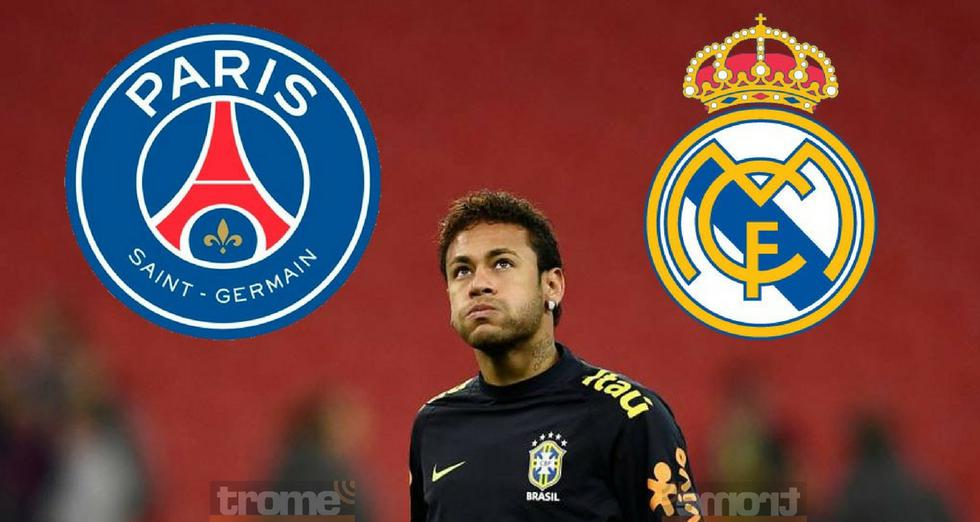 Neymar recibe esta increíble oferta de Real Madrid para dejar PSG