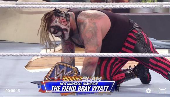 Wyatt y Strowman se enfrentaron por toda la arena del Amway Center de Orlando. (Foto: WWE)