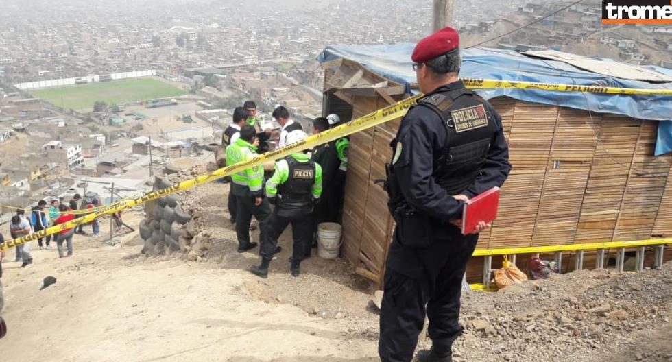 Tres hombres fueron hallados sin vida dentro de una casa en Comas (Fotos: José Yucra)