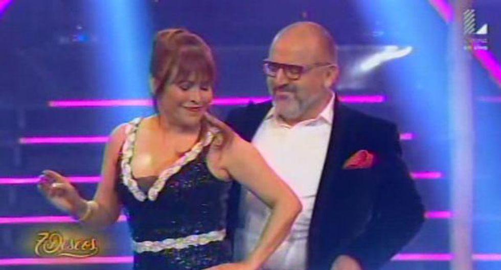 Magaly Medina y Beto Ortiz bailaron en 7 Deseos