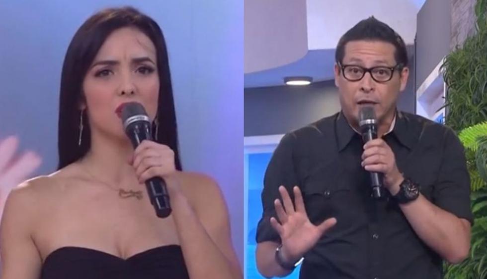 Rosángela Espinoza y Carloncho protagonizaron fuerte discusión en vivo