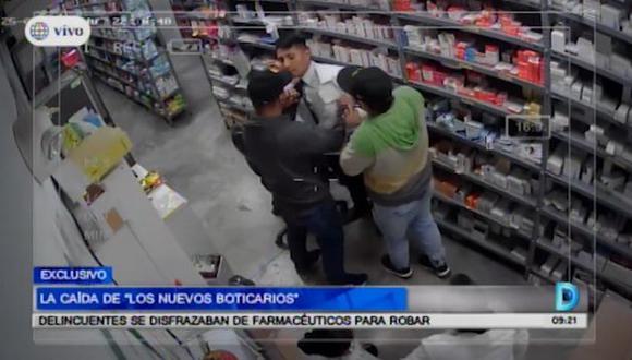 En lo que va del año, se han reportado 48 robos a boticas y farmacias, con mayor incidencia en los meses de julio y agosto. (América Tv)