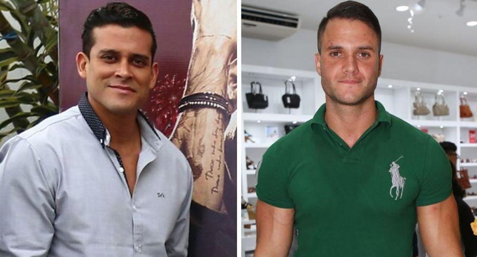 Christian Domínguez y Fabio Agostini