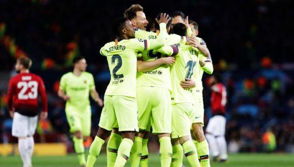 El vencedor de la eliminatoria entre Barcelona y Manchester United enfrentará en las semifinales de la Champions League a Liverpool o Porto. (Foto: @FCBarcelona)