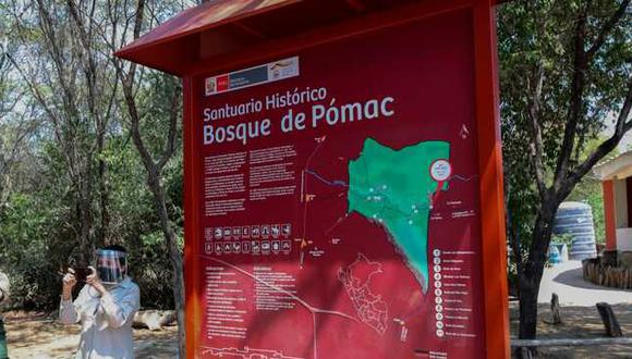 El Santuario Histórico Bosque de Pómac es un área protegida del Perú ubicada en la provincia de Ferreñafe (Lambayeque).