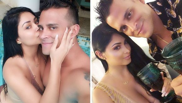 Christian Domínguez y Pamela Franco está cumpliendo la cuarentena juntos. (@christiandominguezof)