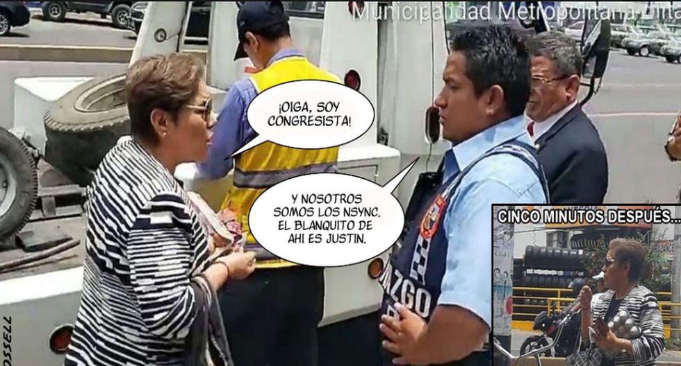 Memes de Luz Salgado. (Fotos: Facebook/Twitter)