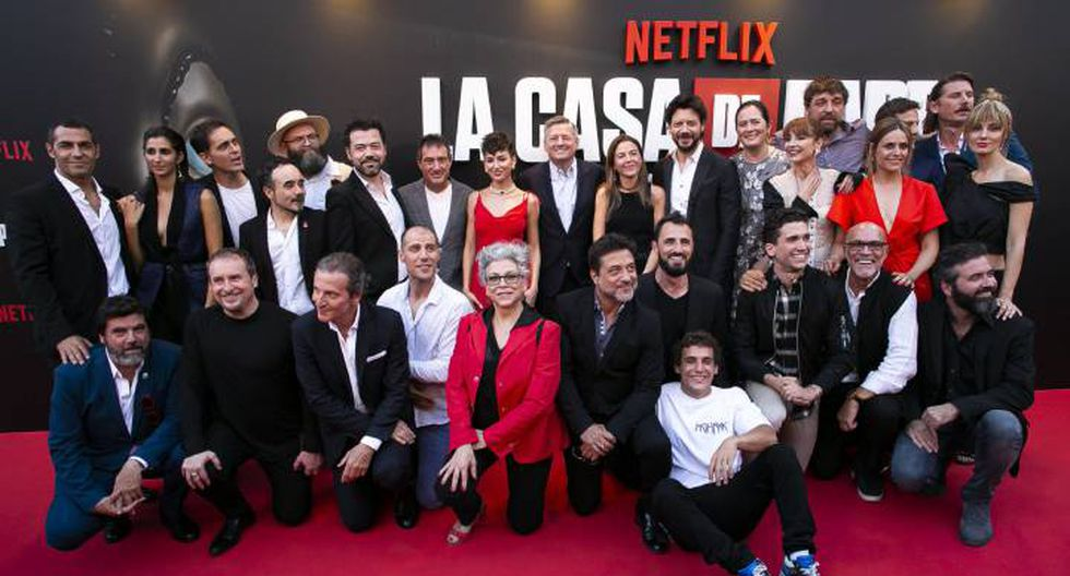 "Rodrigo de la Serna, Palermo en ""La casa de papel"", reveló la fecha de estreno de la cuarta temporada de la serie.(Foto: Netflix)."