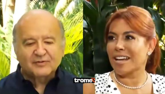 """Magaly Medina 'cuadró' a Hernando de Soto por tener a 'Chibolín'en su campaña: """"No tiene gran alcance"""""""