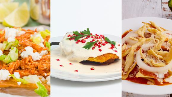La gastronomía mexicana es reconocida a nivel mundial.