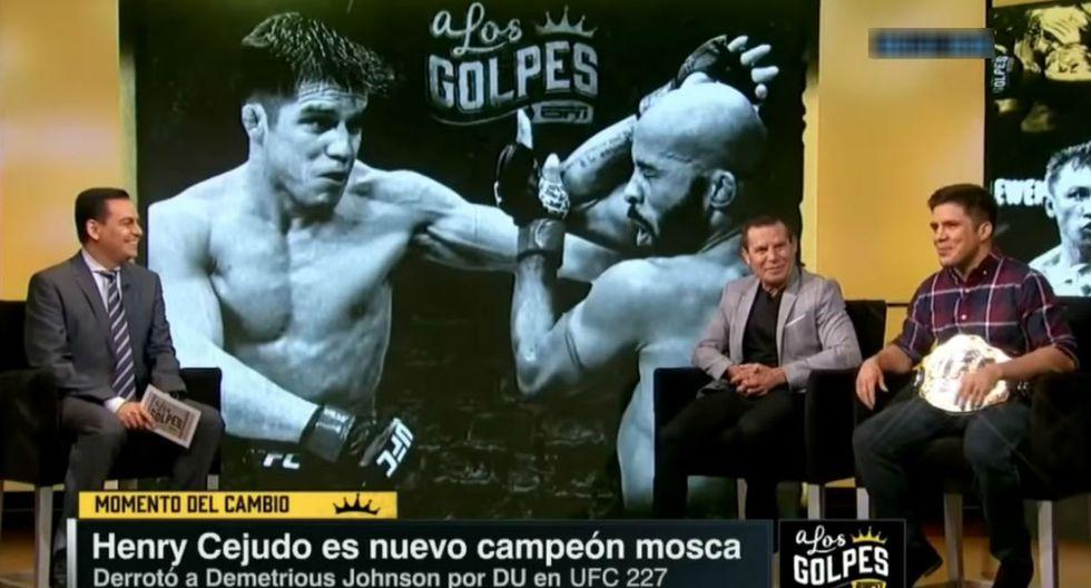 Henry Cejudo es el único campeón de UFC en ser medallista olímpico, mientras que Julio César Chávez mantuvo su invicto en 89 combates. (Redes sociales)