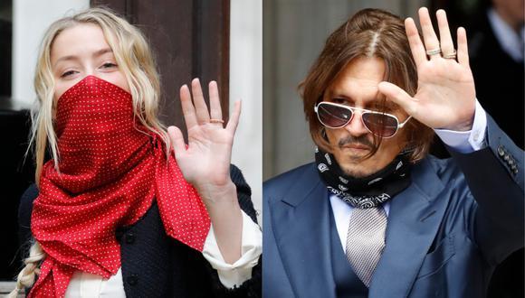Depp querría conocer esta información para utilizarla en la denuncia por difamación por valor de 50 millones de dólares presentada contra Heard. (Foto: AFP/Tolga AKMEN)