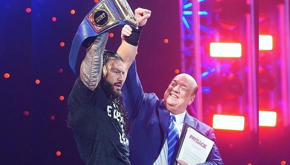 Roman Reigns fue contundente y The Fiend solo cumplió siete días de reinado. (Foto: WWE)