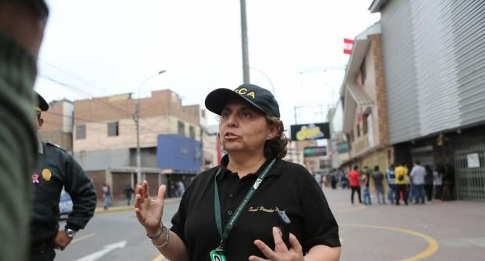 Susel Paredes será la nueva gerenta de Seguridad Ciudadana, Fiscalización y Control, y Gestión de Riesgo de Desastres. (Foto: GEC)