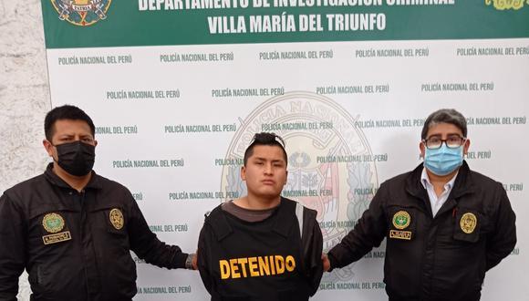Abel Lupinta Chuctaya (28), 'cholo Abel', asesinó a cuchilladas a un joven padre de familia de 21 años, en Villa María del Triunfo.