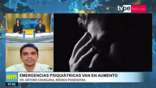 Aumentan emergencias psiquiátricas por pandemia del covid-19