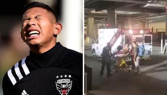 Volante del DC United fue operado el 1 de setiembre tras un duro choque por la MLS