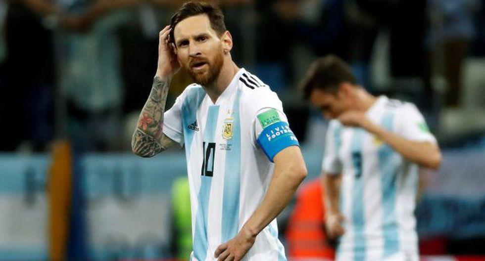 Lionel Messi le mandó un obsequio de 30 camisetas a la selección de Croacia. (Foto: EFE)