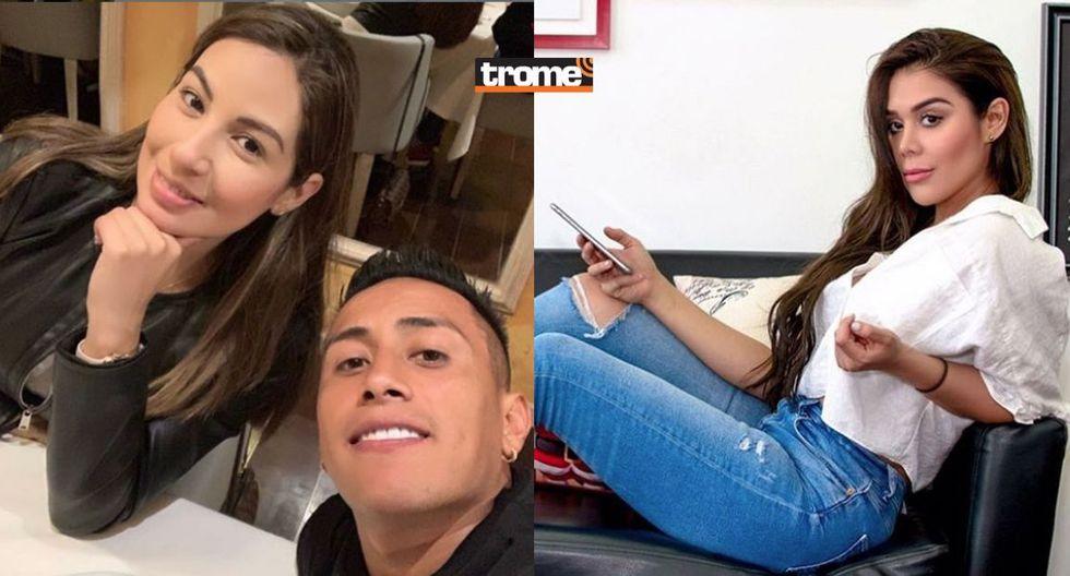 Alexandra Méndez, Pamela López y Christian Cueva