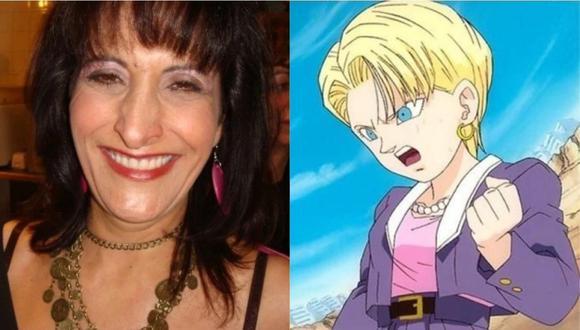 Falleció la actriz Lourdes Moran, la voz de Androide 18 en Dragon Ball GT. (Foto: Facebook)