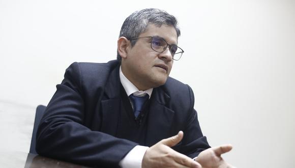 """El fiscal José Domingo Pérez consideró que se busca """"utilizar el argumento político"""" para deslegitimar las investigaciones. (Foto: GEC)"""