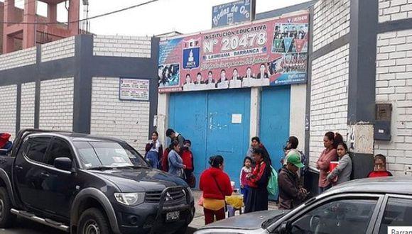 Al menos catorce niños se intoxicaron tras ingerir alimentos en descomposición en Barranca. (Foto: Referencial)