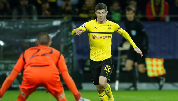 Borussia Dortmund traspasa al Chelsea a Pulisic por 64 millones de euros (Foto: Reuters).