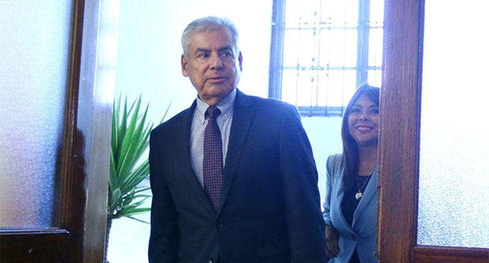 Primer ministro, César Villanueva, también aseguró que no existe persecución política en el Perú. (Foto: Agencia Andina)