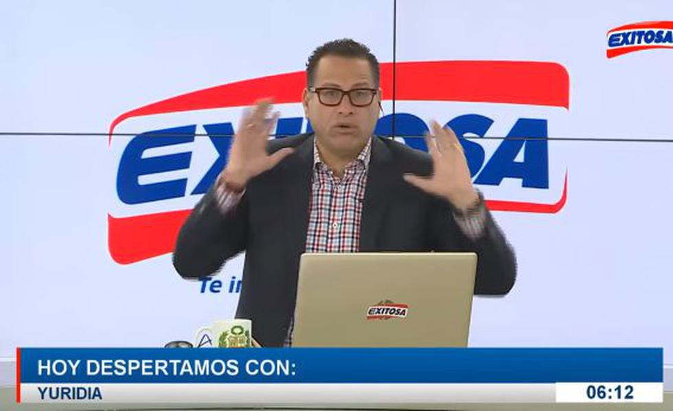 Phillip Butters se solidariza con Magaly Medina. Video: Exitosa