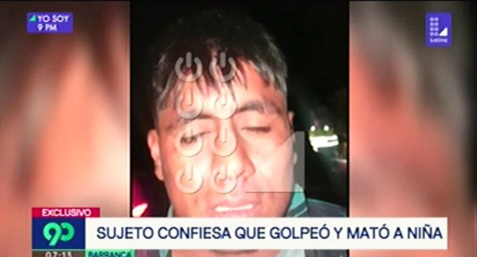 Julio Arquinio Giraldo relató ante un policía cómo asesinó a la niña en Barranca. (Foto: Latina)