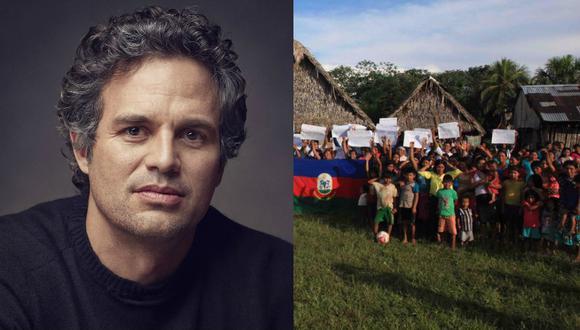Mark Ruffalo: intérprete de 'Hulk' apoya así a los pueblos indígenas peruanos
