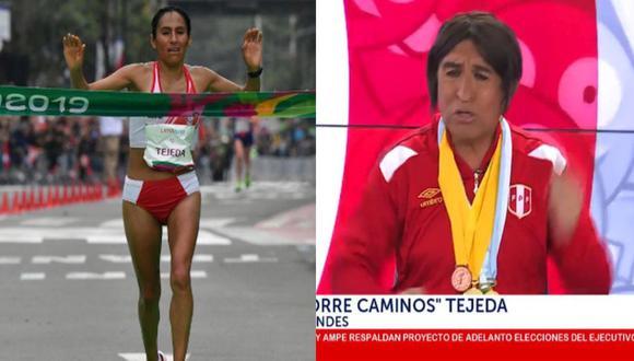 Fernando Armas imitó a Gladys Tejeda.