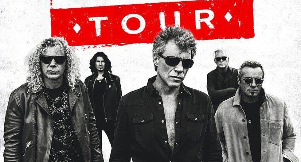 Bon Jovi llegará nuevamente al Perú este 2 de octubre. (Foto: Difusión)