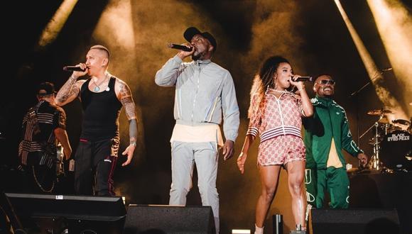 """""""Hit it"""", lo nuevo de Black Eyed Peas con Saweetie y Lele Pons. (Foto: @bep)."""