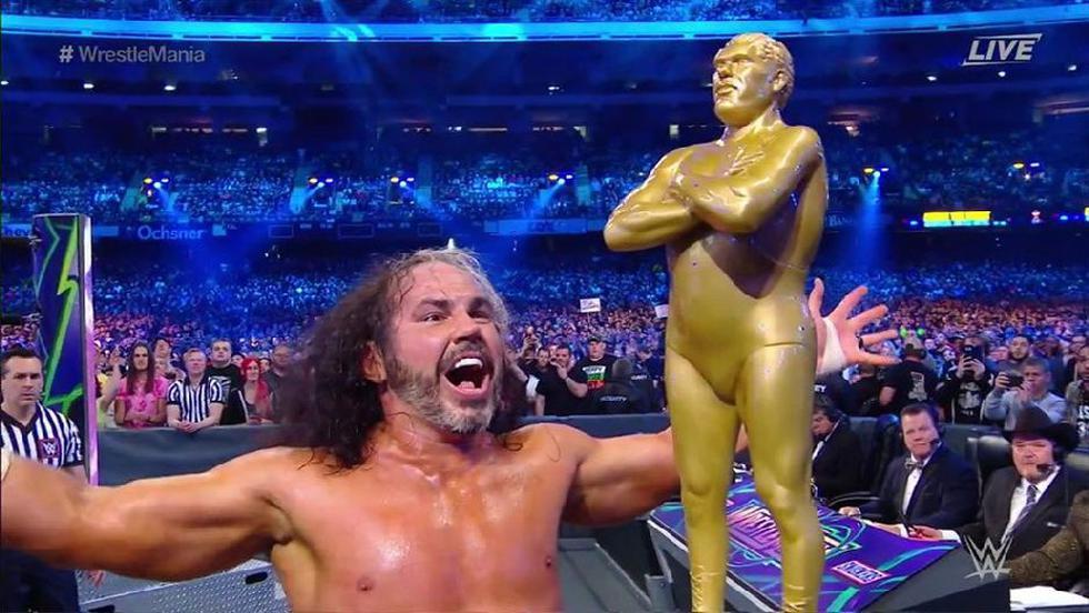 Matt Hardy ganó el Battle Royale. (Captura WWE)