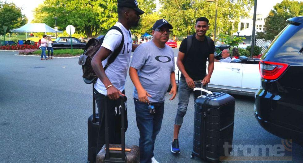 Jugadores del extranjero llegaron a la concentración peruana en e New Jersey