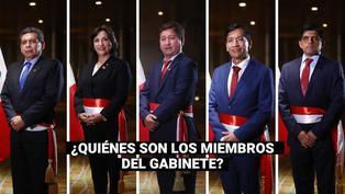 Gabinete Ministerial: estos son los 16 ministros a los que tomó juramento Pedro Castillo
