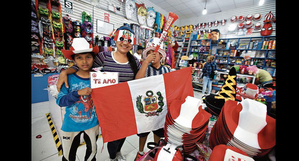 Comerciantes se preparan para alentar con todo en la Copa América 2019
