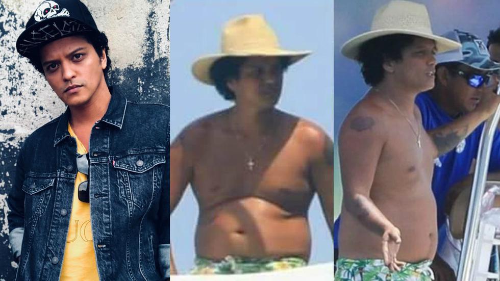 Bruno Mars preocupa a sus fans por su increíble aumento de peso