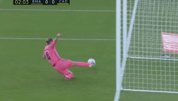 Sergio Ramos evitó el 1-0 de Cádiz por LaLiga Santander