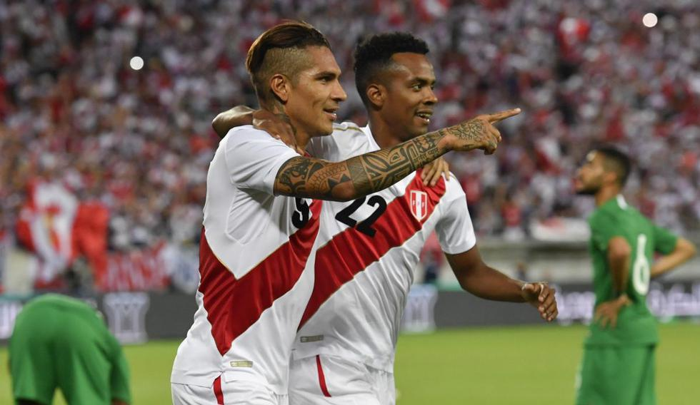 Perú venció 3-0 a Arabia Saudita con GO-LA-ZOS de Paolo Guerrero y André Carrillo previo a Rusia 2018