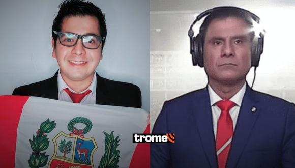 Jehofred Sulca dedica mensaje a Toño Vargas al reemplazarlo en la narración del Perú vs Brasil