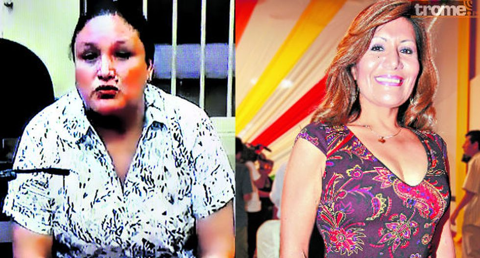 Abencia Meza afirmó que es inocente. (Fotos: GEC)