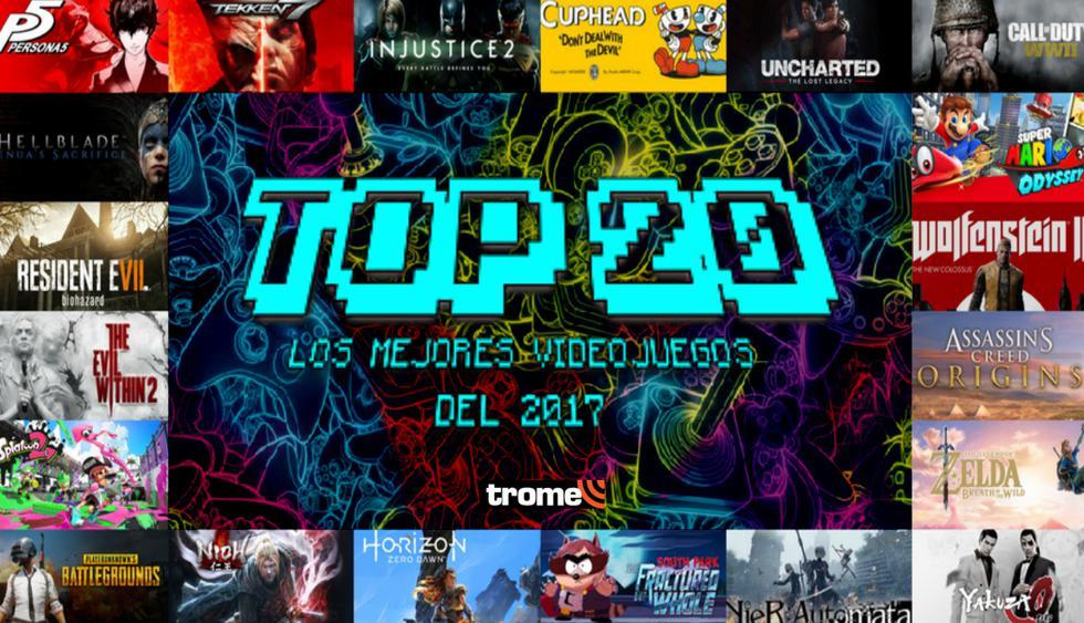Recuento 2017: Top 20 de los mejores videojuegos del año