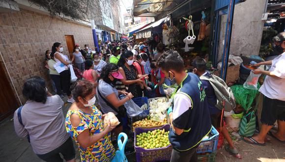 Mercado La Paradita, en Chorrillos. (Foto: Gonzalo Córdova)