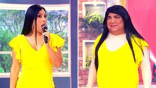 Tula Rodríguez recibió en el set de 'En Boca de Todos' a su clon 'Tulia'